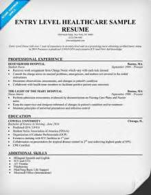 entry level resume writing services entry level healthcare resume exle http resumecompanion student health career