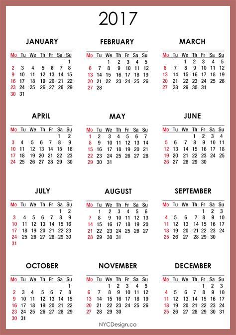 free printable 2017 calendar 2017 calendar printable 2017 printable calendar free