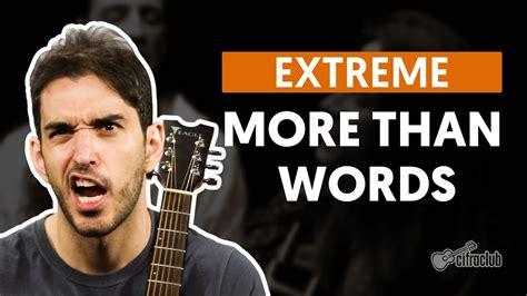 More Than Words - Extreme (aula de violão completa) - YouTube