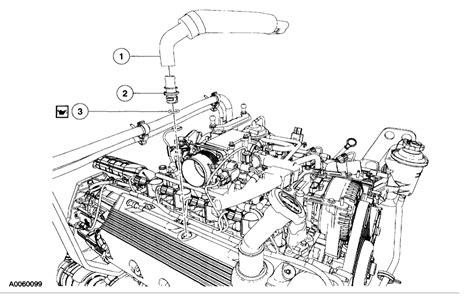 Where Pcv Valve Located Cyl Two Wheel Drive