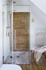 Rustic Wood Tile Shower