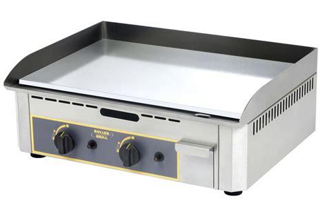 commercial cuisine professionnelle plancha plaque à snacker chrome gaz psr 600 gc pro