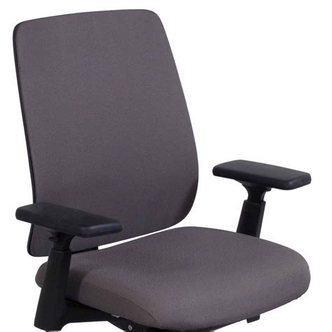 haworth lively used task chair nickel national office