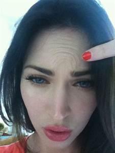 "Cele|bitchy | Megan Fox's ""no Botox"" face courtesy of ..."