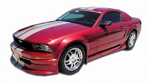 2006 Ford Mustang - Fiberglass+ Body Kit Body Kit - Ford Mustang V8 Duraflex Racer Body Kit - 4 ...