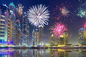 dubai on new year s best places to the fireworks this year
