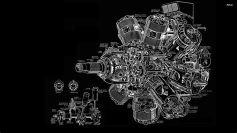 Engine Diagram Wallpaper