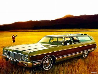 Chrysler 1973 Town Country Wagon Station Wallpapers
