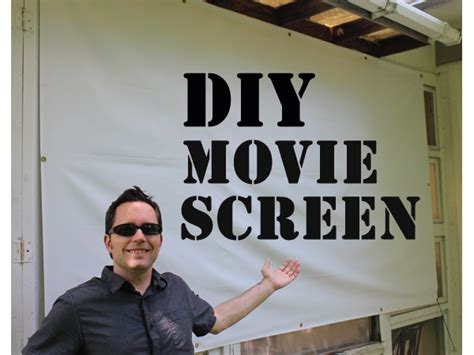 diy  screen   outdoor  night feelgood style