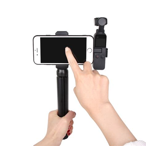 dji osmo pocket shorty handgrip extension pole rod extendable monopod tripod selfie stick