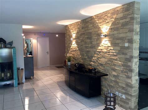 Indirekte Beleuchtung Steinwand by Steinwand Wohnzimmer Navarrete Wandgestaltung Wohnzimmer