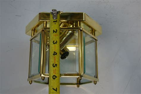 sea gull polished brass  light ceiling fixture   ebay