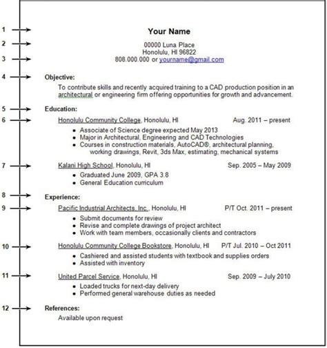 how to write a resume with or no experience no