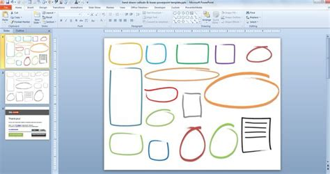 descargar templates gratis scribble drawing after effects hand drawn callouts boxes powerpoint template
