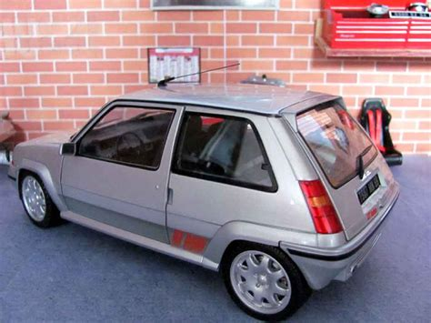 renault 5 gt turbo phase 2 gris jantes speedline norev coches miniaturas 1 18 comprar venta