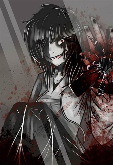 Anime Wallpaper Jeff The Killer by Jeff The Killer Sally Creepypasta Mystery Anime
