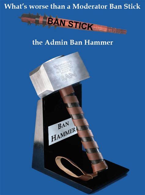 the ban hammer minecraft blog