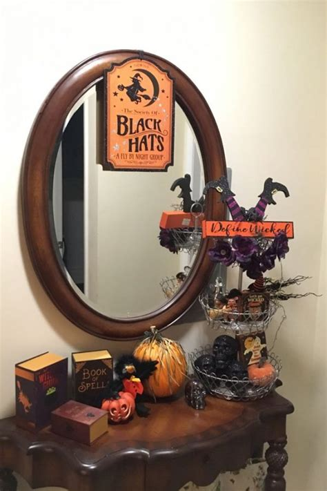 ways  decorate  tiered tray  halloween