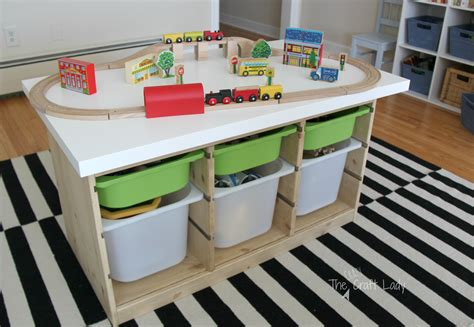 diy train table top an ikea hack train activity table the crazy craft lady