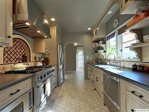 Galley, Kitchen, Layout, Design, Ideas