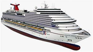Cruise vessel carnival breeze 3D model - TurboSquid 1284475