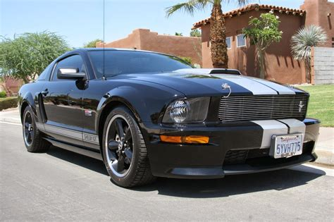 ford mustang shelby gt black silver  sale