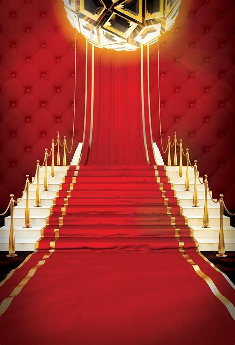 poster background festive atmosphere red carpet joyous