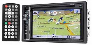 Power Acoustik Pdn Cd Car Stereo Gps Navigation