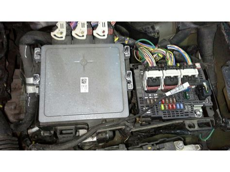 Peugeot 508 Fuse Box by Peugeot 508 2011 To 2014 Fuse Box Diesel Automatic For