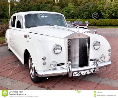 Classic Old Car White Editorial Photography. Image Of