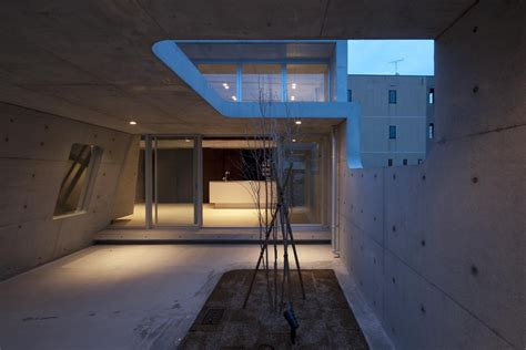 interior structure of house a minimalist house with a sleek concrete structure