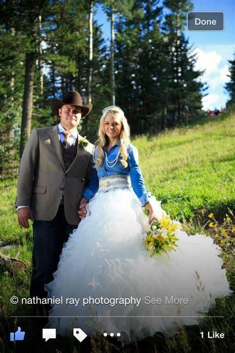 Denim And Lace Wedding Dress ~ W Inzone