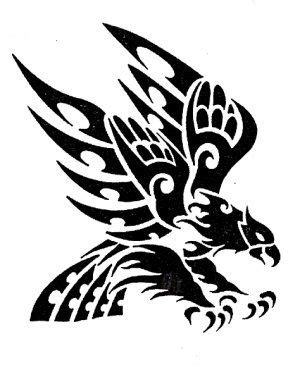 Pin by Suzie Beardslee on inkspiration   Tribal eagle tattoo, Eagle tattoos, Eagle art