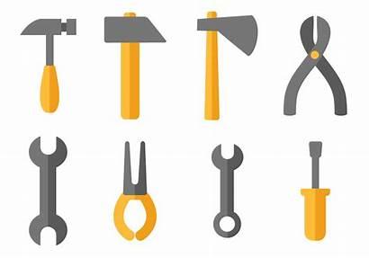 Tools Construction Clipart Vektor Herramientas Werkzeug Clip