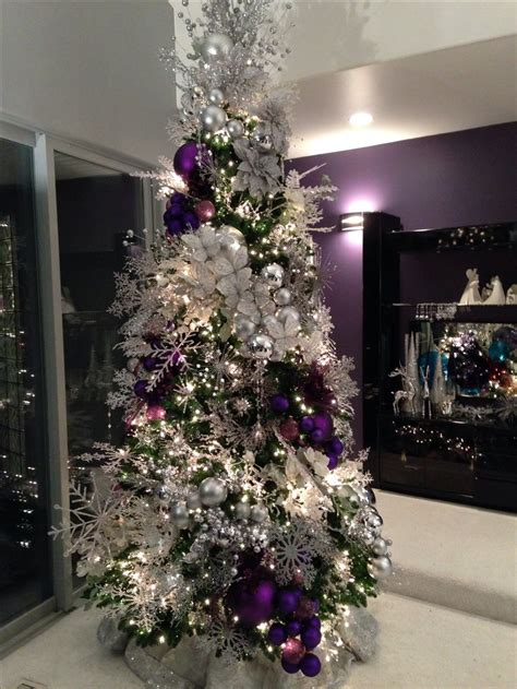 purple christmas decorations for tree 576 best royally purple christmas images on pinterest xmas christmas decor and christmas