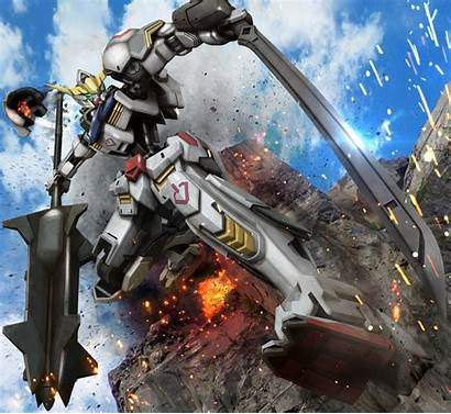 Gundam Orphans Blooded Iron Wallpapers Iphone Barbatos