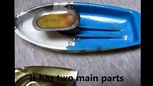 Toy steam boat and its structure - YouTube
