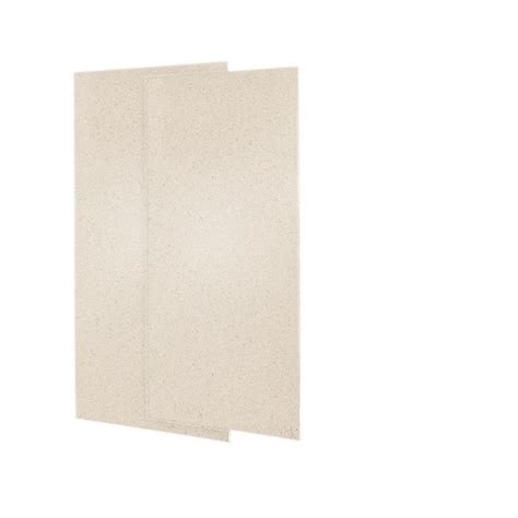 Shower Panels Home Depot - swan 36 in x 72 in 2 easy up adhesive shower wall
