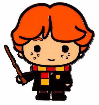 Harry Potter Chibi Ron Enamel Cartoon Weasley