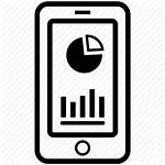 Icon Chart App Phone Mobile Application Data