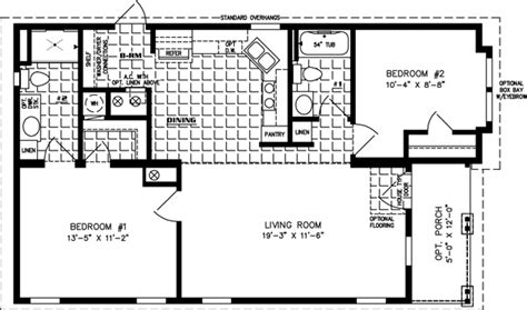 sq ft manufactured home floor plans jacobsen