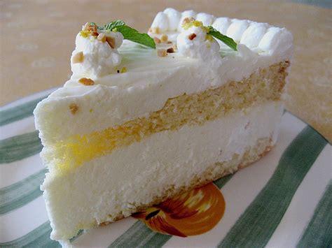 German Lemon Torte - The Best Cake for Summer • Best ...