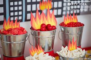 Feuerwehrmann Sam Geburtstagsdeko : fireman themed birthday party bomberos cumple y fiesta de bomberos ~ Whattoseeinmadrid.com Haus und Dekorationen