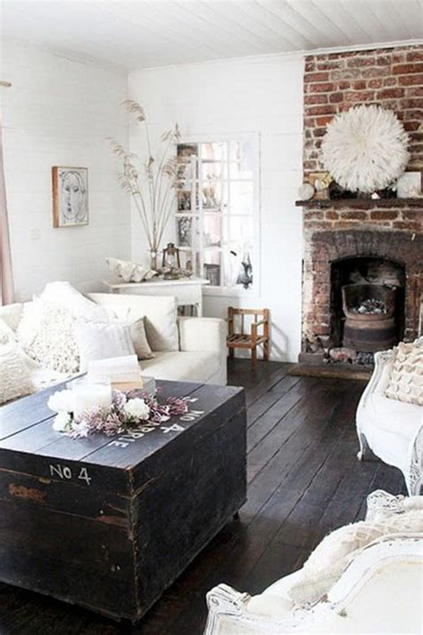 30 pretty rustic living room ideas