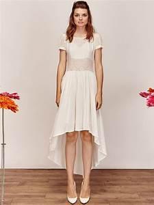 Robe de mariee simple courte pas cher idees et d for Robe de mariée créateur pas cher