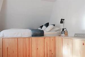 Hohes Bett Mit Stauraum : bett mit stauraum ~ Orissabook.com Haus und Dekorationen