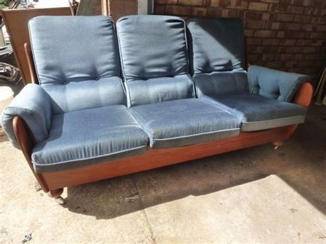 G Plan Settees by Complete Mid Century Vintage G Plan Sofa Suite Settee