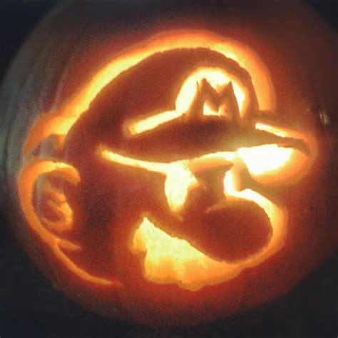 pumpkin carving mario mario pumpkin spookify your pumpkin with a mario pumpkin stencil