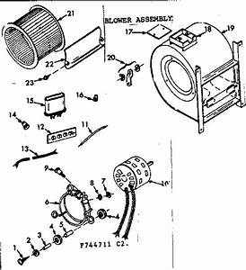 Kenmore 867744711 Space Heater Parts