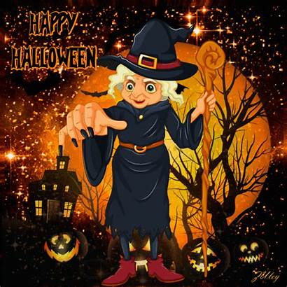 Halloween Happy Witch Creepy Quote Gifs Animated